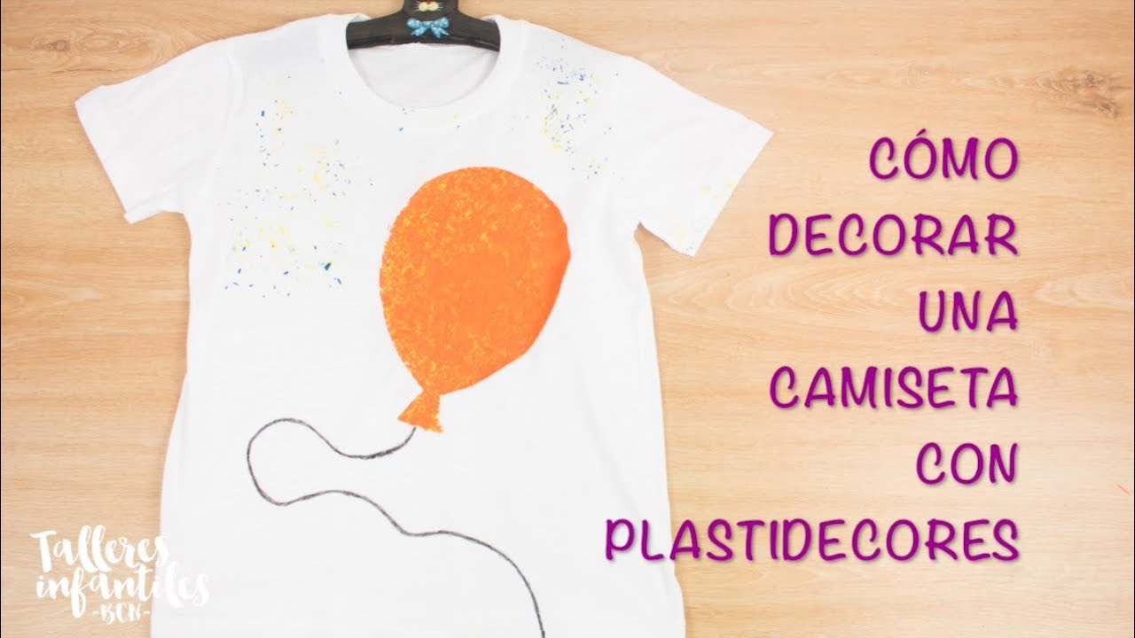 Decorar Camisetas Infantiles CÓmo Decorar Una Camiseta Con Plastidecor