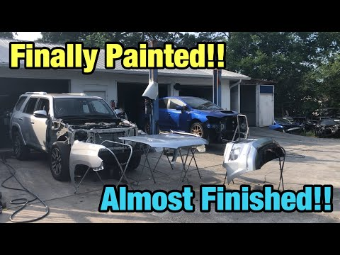 Rebuilding a Wrecked 2015 Toyota 4Runner Limited Part 6 From Copart Salvage Auction