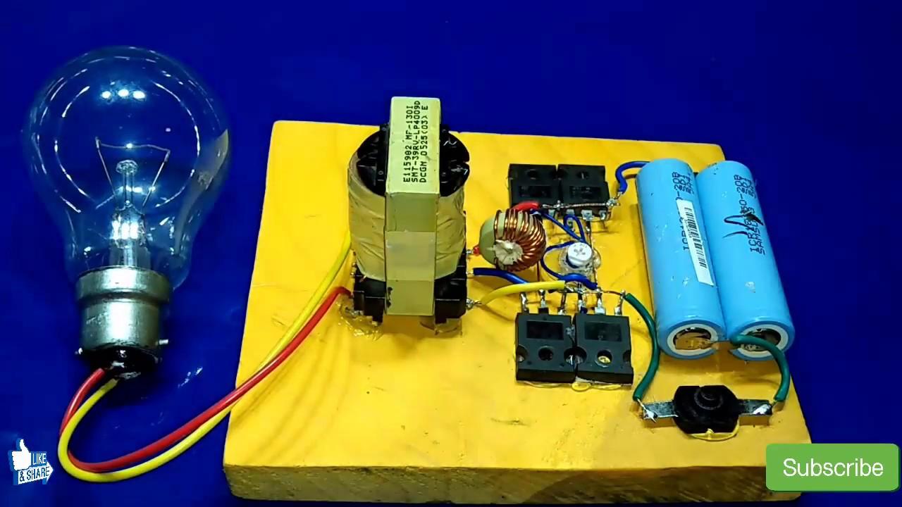 Inverter 3v To 220v 500watt How To Make Inverter Without