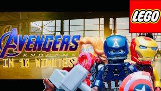 Avengers: Endgame in 10 minutes |LEGO STOPMOTION|