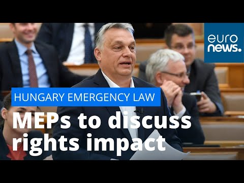 EU Hungary debate: MEPs to discuss rights impact of Budapest