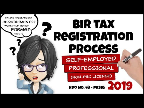 [UPDATE] BIR Tax Registration Process Self-Employed Professional Non-PRC License | Online Freelancer