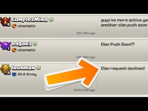 Clash of Clans - Why Ali-A Clan Rejected Me