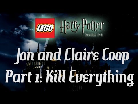 Lego Harry Potter: Jon & Claire Coop - Part 1 - Kill Everything