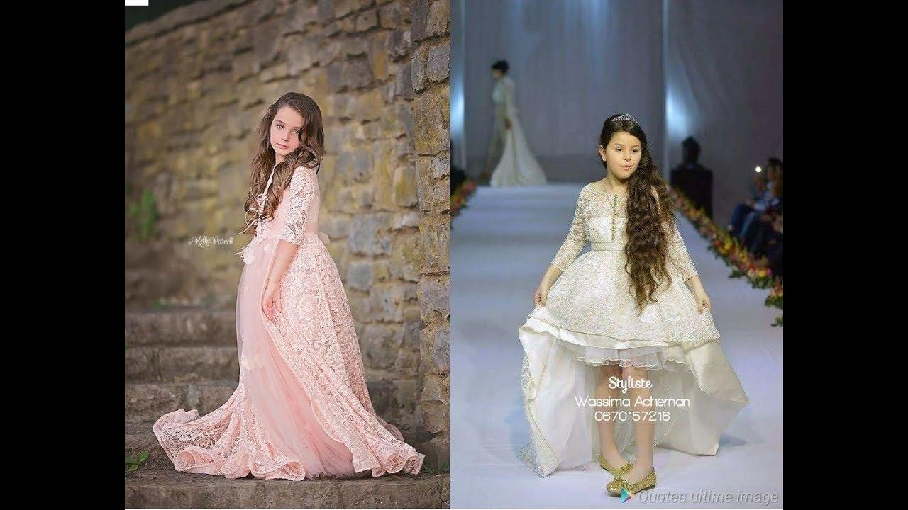 b789fabdc اجمل موديلات القفطان للبنات الصغار De jolis caftans pour jeunes filles