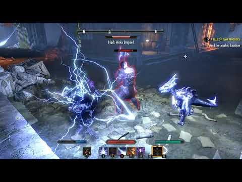 Elder Scrolls Online Summerset Use Broken Passage Enter Sewers