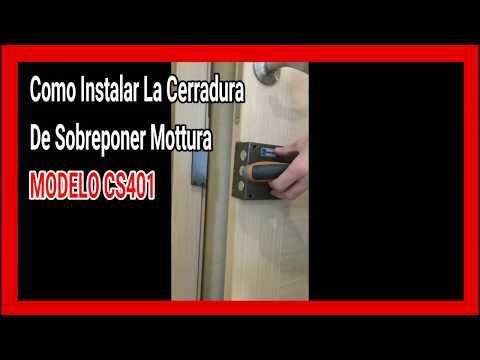 Como instalar la cerradura Mottura CS 401 https://youtu.be/9QlXpI54tm8
