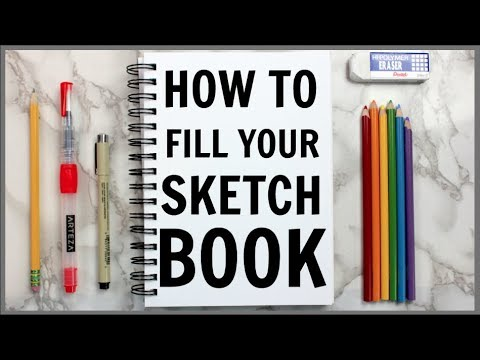 5-ways-to-fill-your-sketchbook!-(beginner-friendly!)