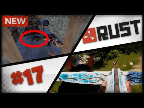 INCREDIBLE LOOT WITH TRAP BASE ! HJUNE WITH HORSE IS INSANE ! Rust Streamer Moments ep. 17