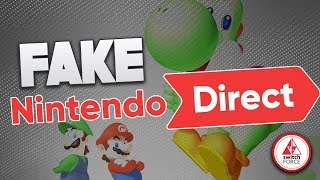 A FAKE Nintendo Direct For January 2019 Spreads on Twitter!