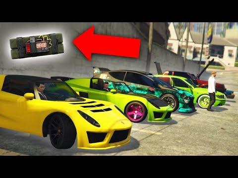 CRASHING A CAR MEET IN THE FUNNIEST WAY! | GTA 5 THUG LIFE #167
