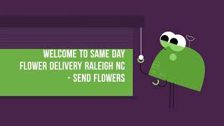 Get the best Flower Delivery in Raleigh | Call @ 919-336-0402