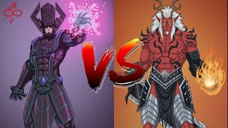 Trigon vs Galactus in Hindi    multiversh    super battle