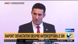 """Claudiu Manda, despre interceptările SRI: """"Au fost interceptați peste 6 milioane de oameni"""""""