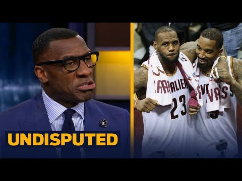 Shannon Sharpe reacts to J.R. Smith saying LeBron passed Jordan as GOAT two years ago   UNDISPUTED