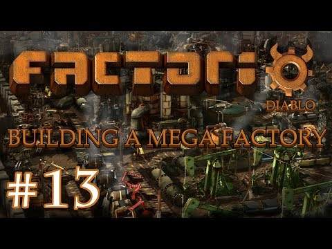 Factorio - Building a Mega Factory: Part 13 Building a new smelting area and a new oil refinery.