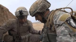 Американские морские пехотинцы в Афганистане!Видео реального боя!