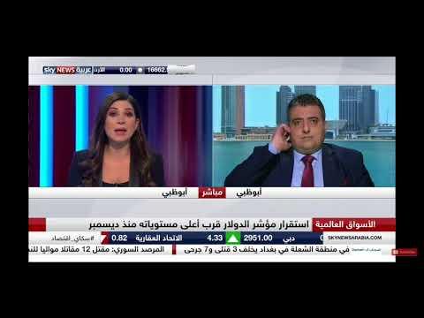 Nizar Aridi Sky News Arabia ADSS view oil and the dollar