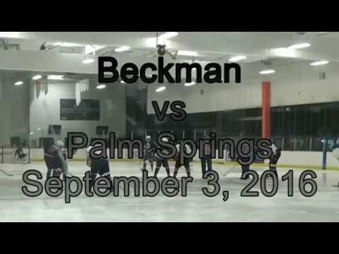 2016 09 03 - Beckman vs Palm Springs