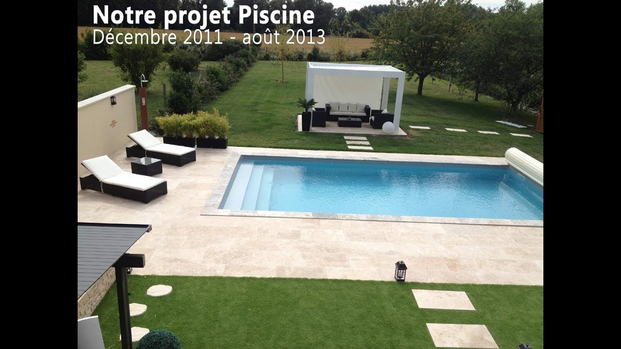 Projet piscine 41 vendome youtube for Construction piscine desjoyaux youtube