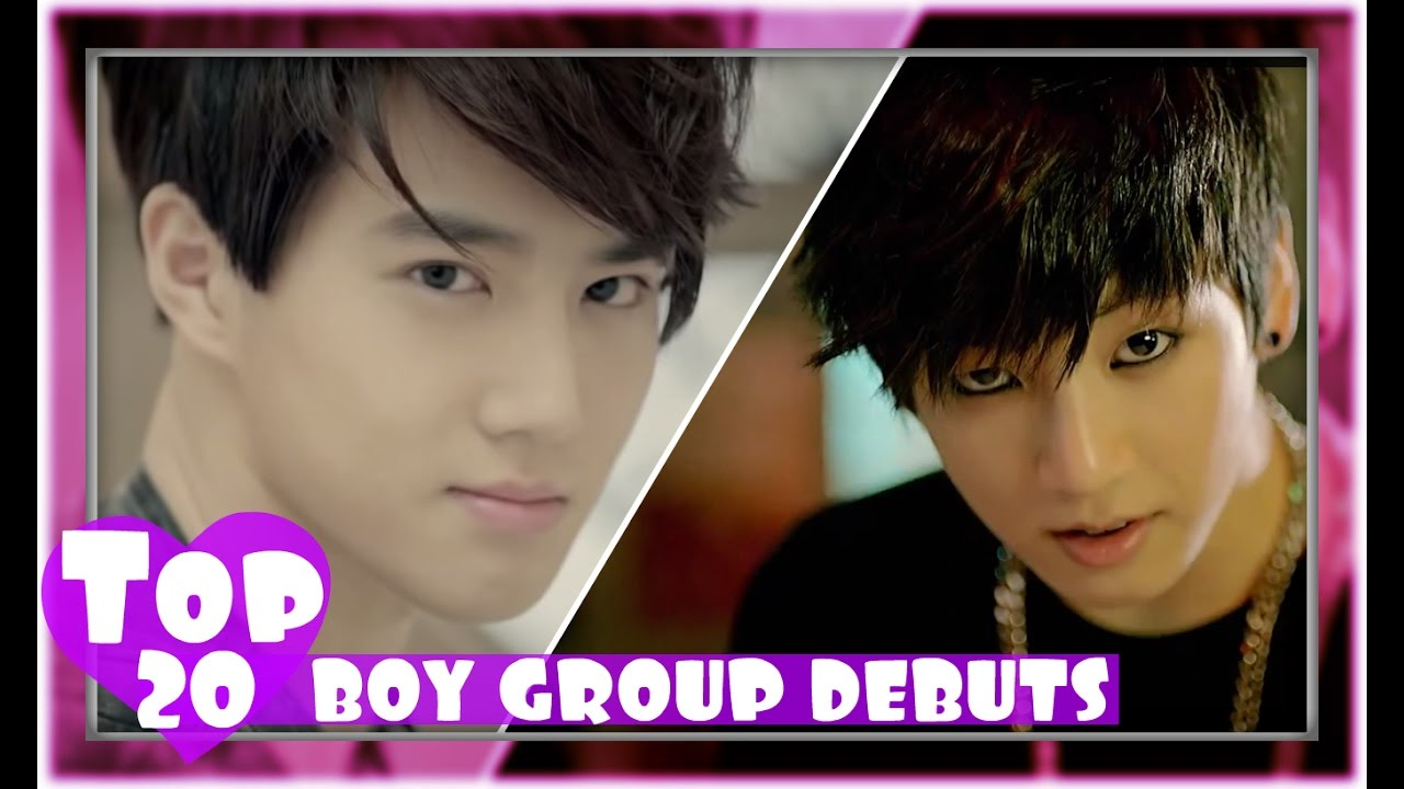 [TOP 20] MOST VIEWED K-POP BOY GROUP DEBUT MUSIC VIDEOS