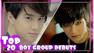 Video [TOP 20] MOST VIEWED K-POP BOY GROUP DEBUT MUSIC VIDEOS download MP3, 3GP, MP4, WEBM, AVI, FLV Agustus 2018
