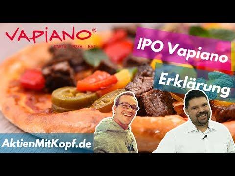 IPO der Vapiano Aktie - Schritt für Schritt erklärt