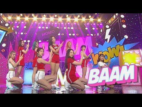 """Comeback Special"" MOMOLAND - BAAM @ Lagu Populer Inkigayo 20180701"