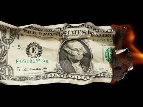 A Crise do Dólar - O Histórico Declínio da Moeda Americana