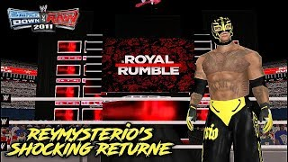 Reymysterio makes his shocking return at royal rumble 2018 | svr 2011 psp recreation