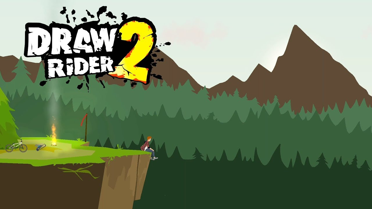 Draw Rider 2 Plus Android Gameplay Youtube