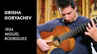 Paco de Lucia's 'Malaguena de Lecuona' - Grisha Goryachev plays 1924 Miguel Rodriguez