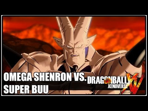Omega Shenron Vs Kid Buu DRAGON BALL XEN...