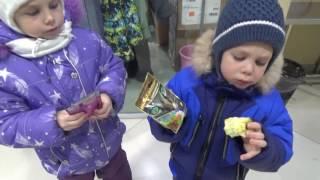 Vlog Покупаем корм для бездомной кошечки. Vlog buy food for a homeless cat