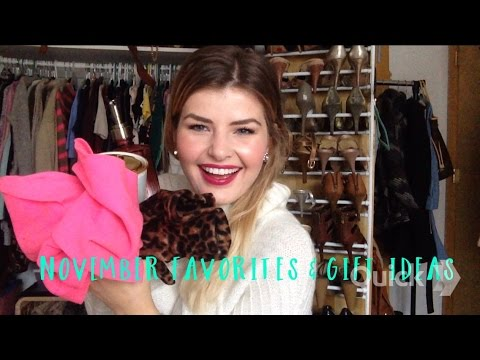 November Favorites & Gift Ideas! (Anthropologie, L'occitane, Old Navy and more)