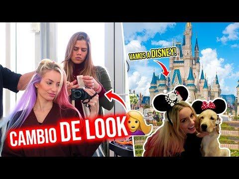 CAMBIO DE LOOK!😱 + NOS VAMOS A DISNEY! | 15 Ene 2019