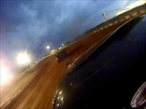 Fort Payne Motor Speedway hot laps for pony stock Josh Battles #11