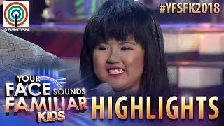 YFSF Kids 2018 Highlights: Jury, pinuri ang galing ni Chunsa as Sampaguita