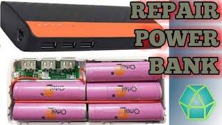 REPAIRING POWER BANK || USB POWER BANK || MOBILE POWER BANK || REPLACE BATTERY POWER BANK || POWER