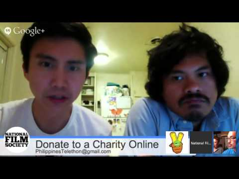 Online Telethon for Philippines Typhoon Relief