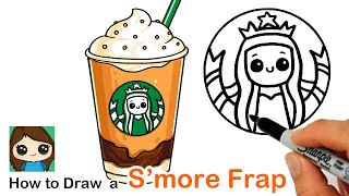 How to Draw a Starbucks S'mores Frappuccino | Summer Art Series #8