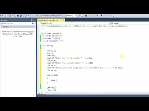 Switch Case | Switch Statement | Concept, Syntax | Explained With Examples | Calculator | C++