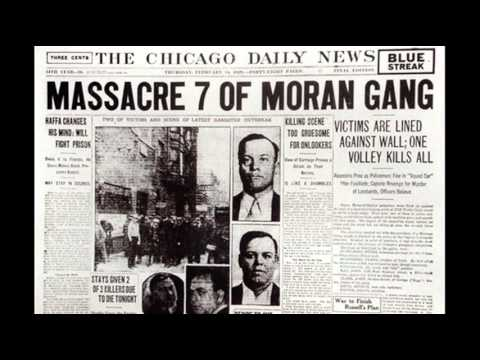 14th February 1929 Saint Valentine S Day Massacre Youtube