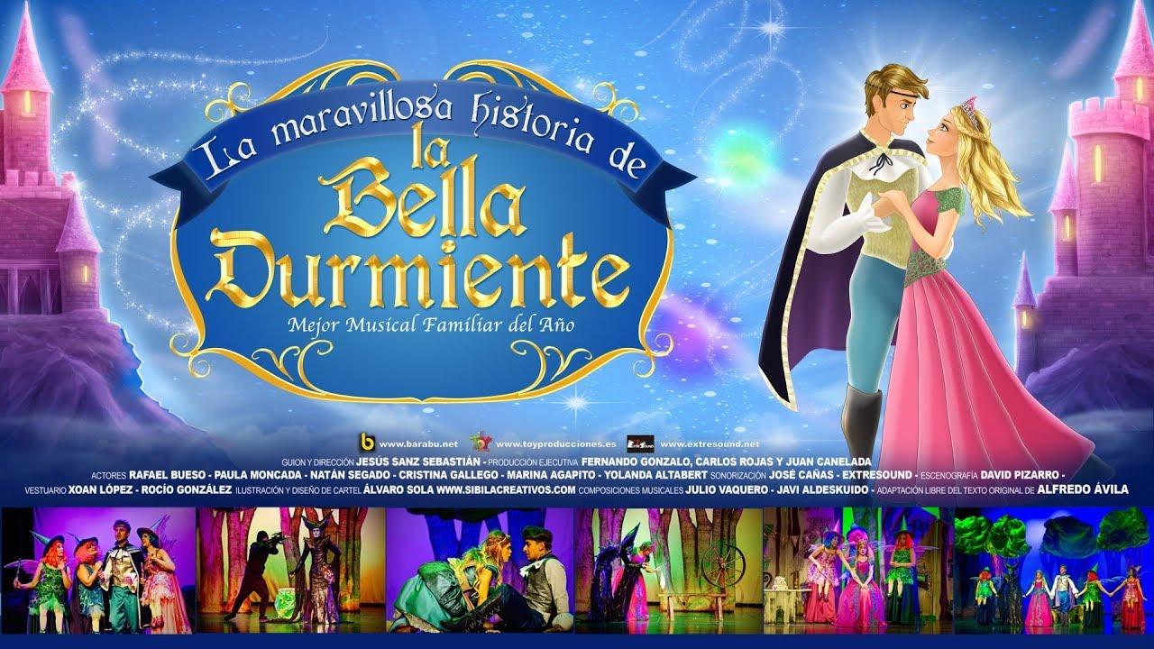 La Maravillosa Historia De La Bella Durmiente Teatro De La Luz Philips Gran Vía Youtube