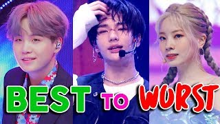 WORST to BEST RAPS in KPOP of 2019!