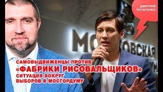 «Потапенко будит!», Самовыдвиженцы против «фабрики рисовальщиков», вокруг выборов в Мосгордуму
