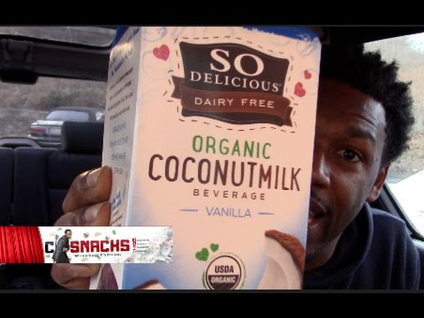 SO DELICIOUS Organic COCONUT MILK  '''taste''''