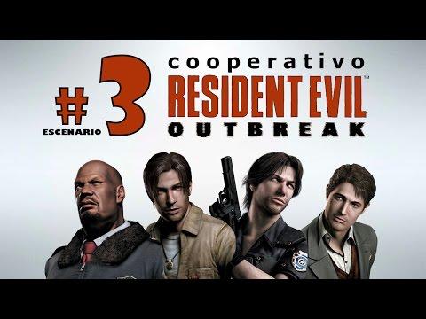 """Resident Evil Outbreak - Escenario 3 """"The Hive"""" - Cooperativo"""