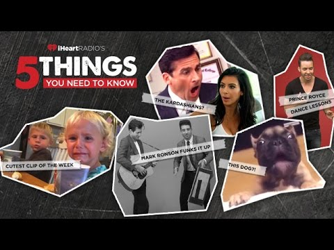 Mark Ronson Brings the Funk, Prince Royce Busts a Move & More | 5 Things You Need to Know
