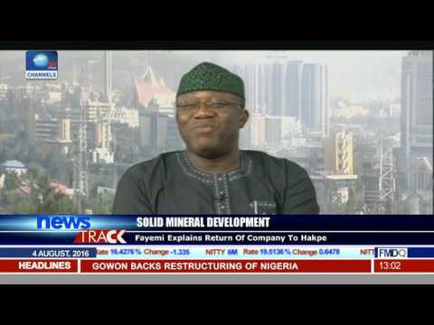 Fayemi Explains Return Of Ajaokuta Steel To Global Infrastructure Holdings Limited